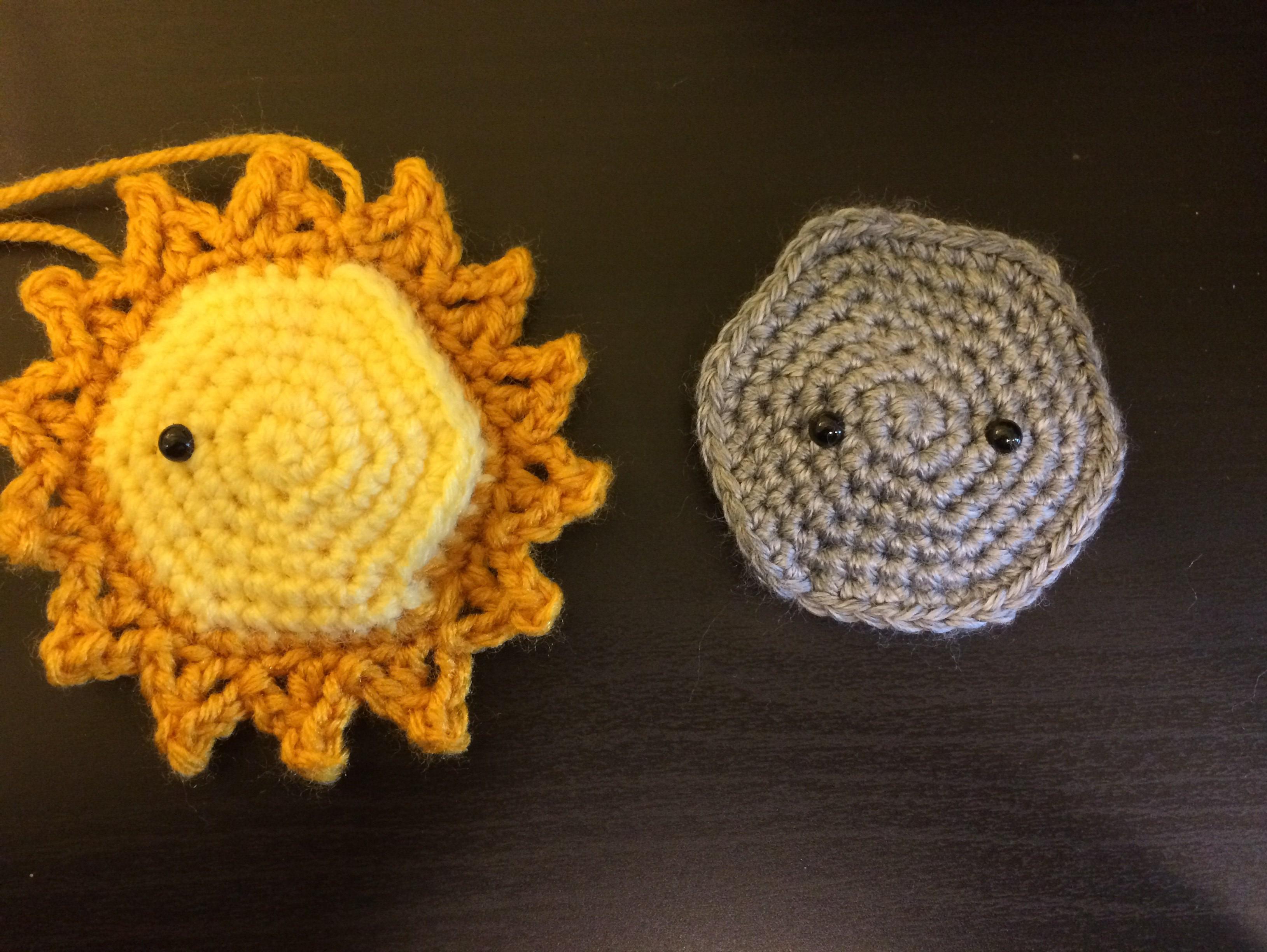 Solar Eclipse Amigurumi Free Crochet Pattern Once Upon A Yarn