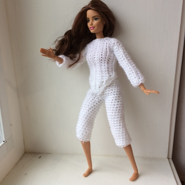Barbie Fencing Outfit Free Crochet Pattern Once Upon A Yarn